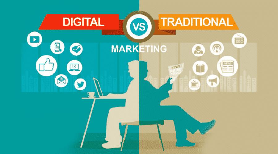 digital marketing vs marketing tradizionale