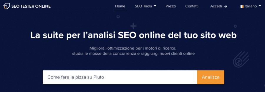 strumento seo tester online