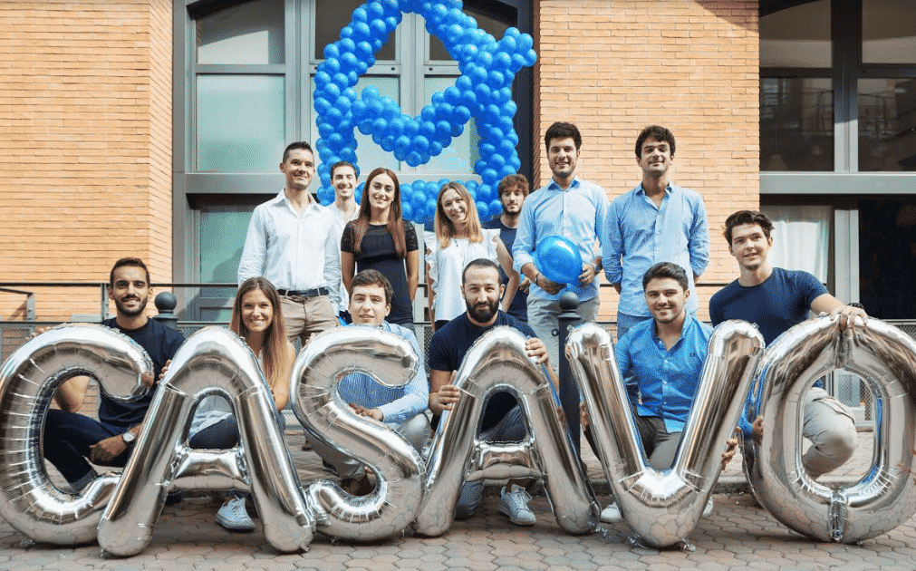 team startup casavo