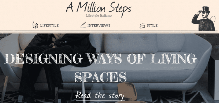 Blog a million steps startup velasca