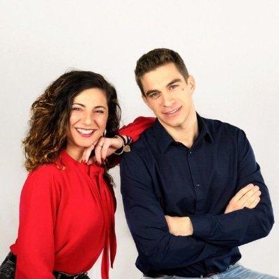 Alessio Boceda e Giulia D'Amato