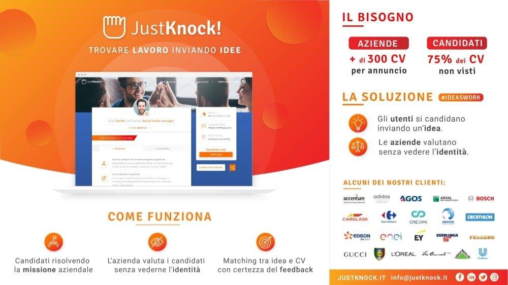 justknock startup italiana