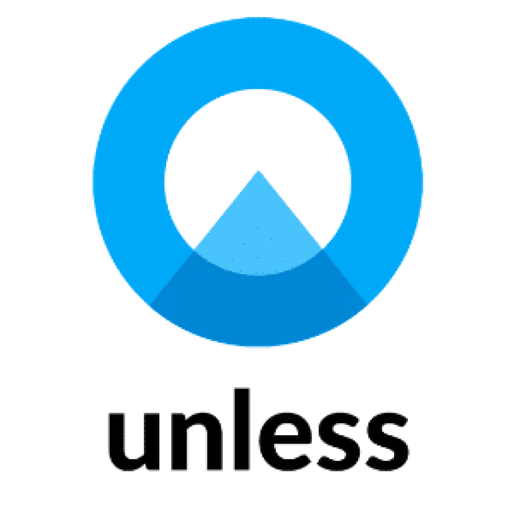 unless logo