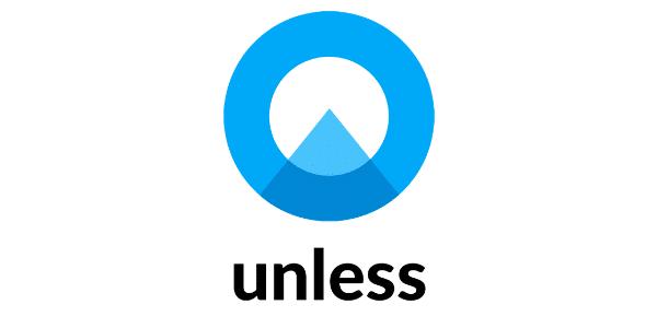 unless logo