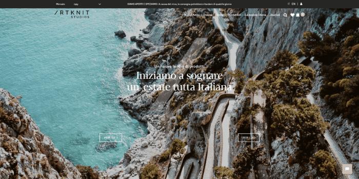 artknit studio startup fashion