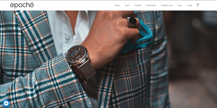 epochè startup fashion