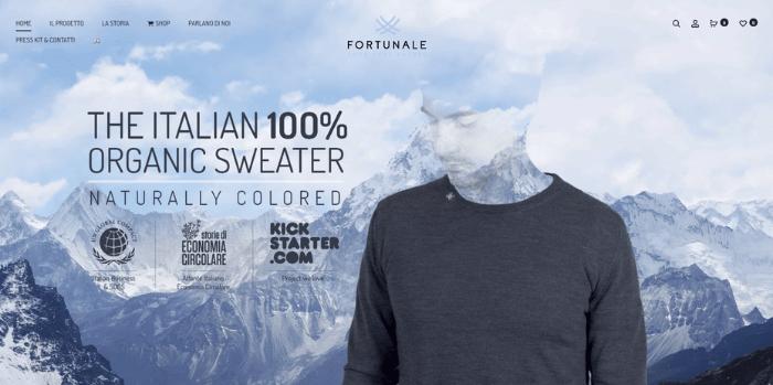 fortunale startup moda