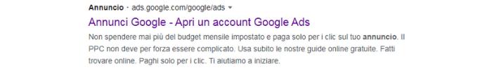 acquisire nuovi clienti tramite annunci google