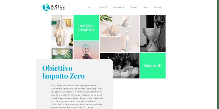 krill design a impatto zero