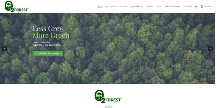 o2forest startup green