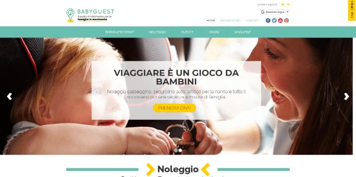 startup viaggi babyguest