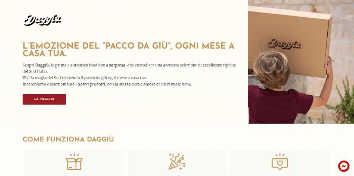 startup regalo natale daggù