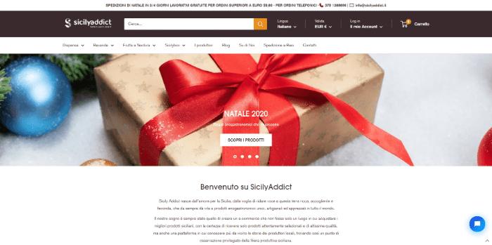 startup regalo natale sicily in a box