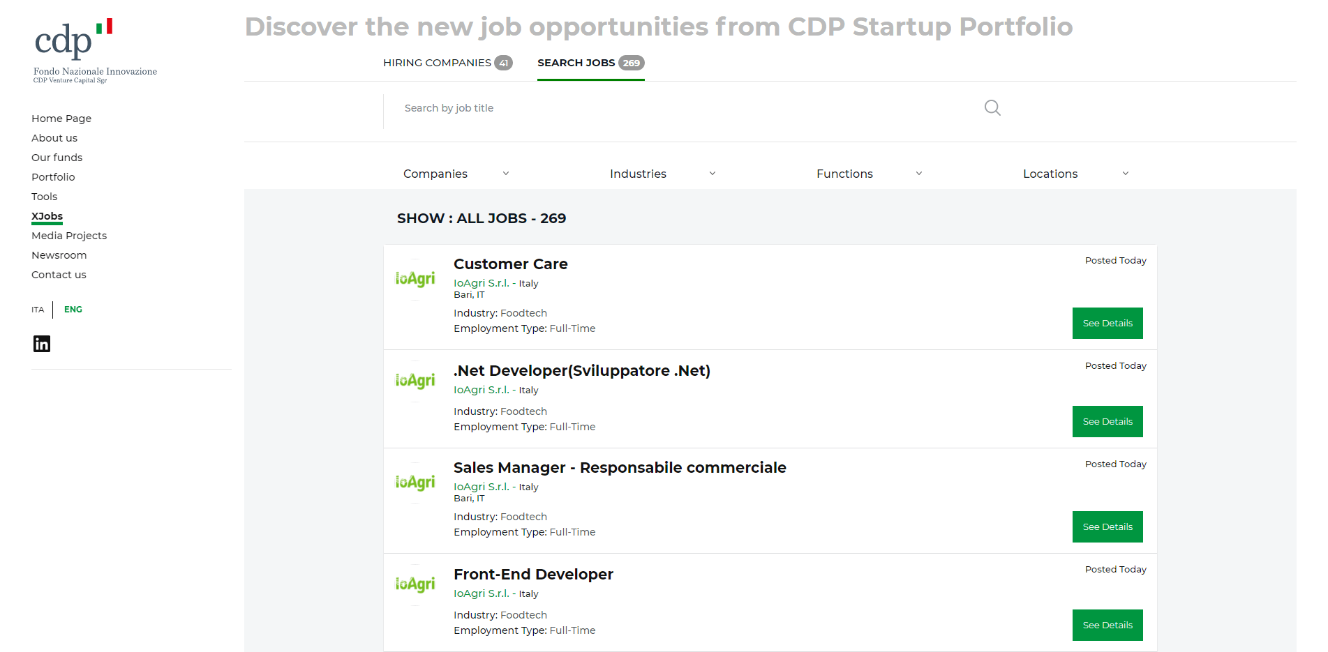 CDP XJobs Search Jobs