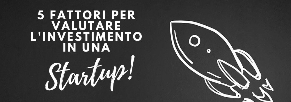 valutare investimento in startup