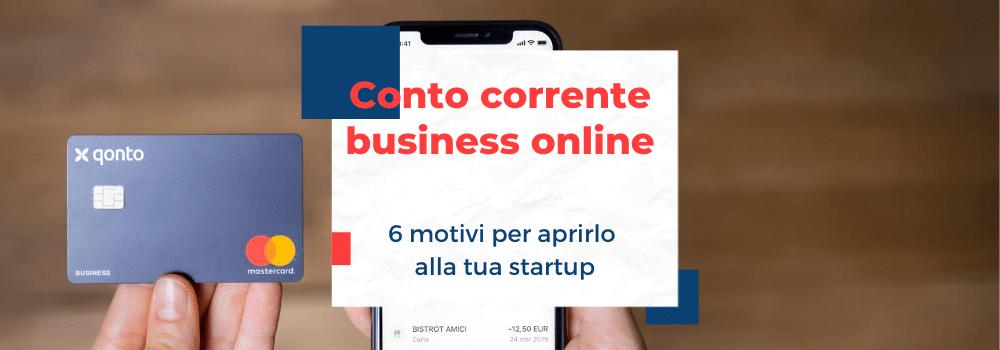 Conto corrente business online
