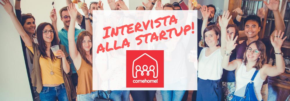 intervista alla startup italiana comehome