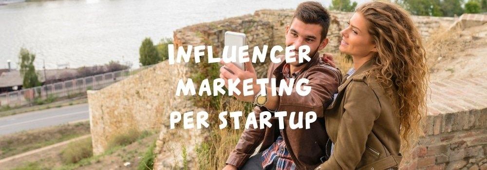 influencer marketing per startup