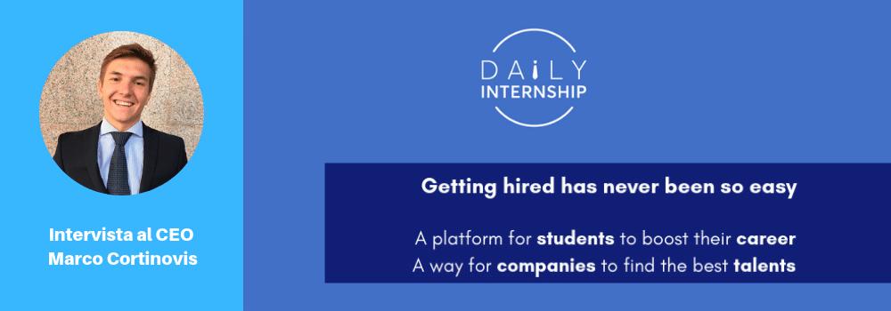 marco cortinovis daily internship