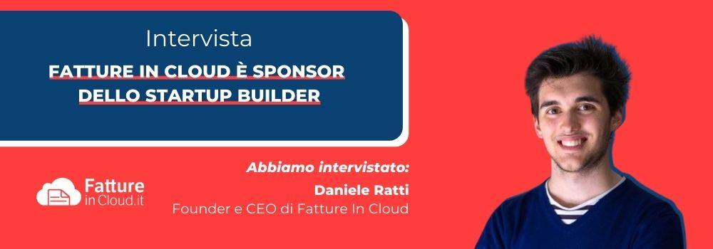 Fatture in Cloud è sponsor dello startup builder