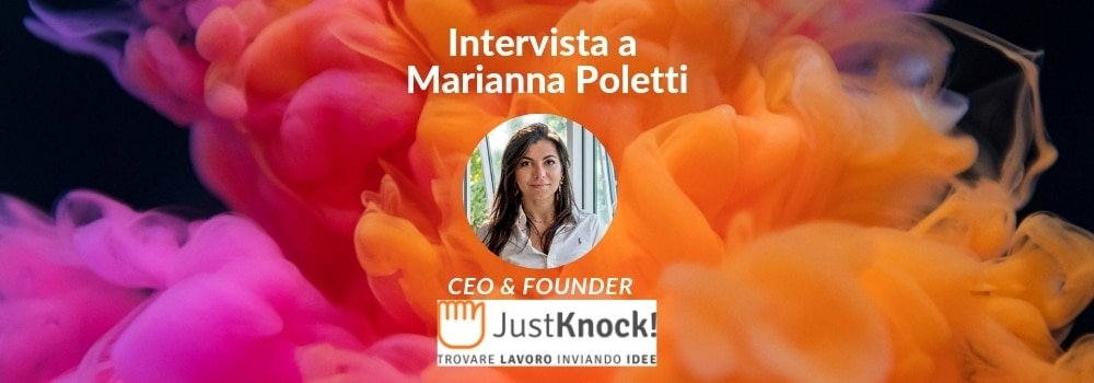 just knock marianna poletti startup