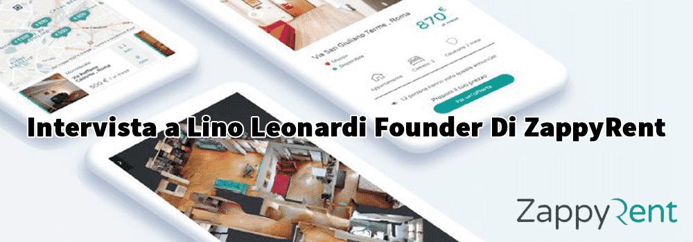 lino leonardi zappyrent intervista