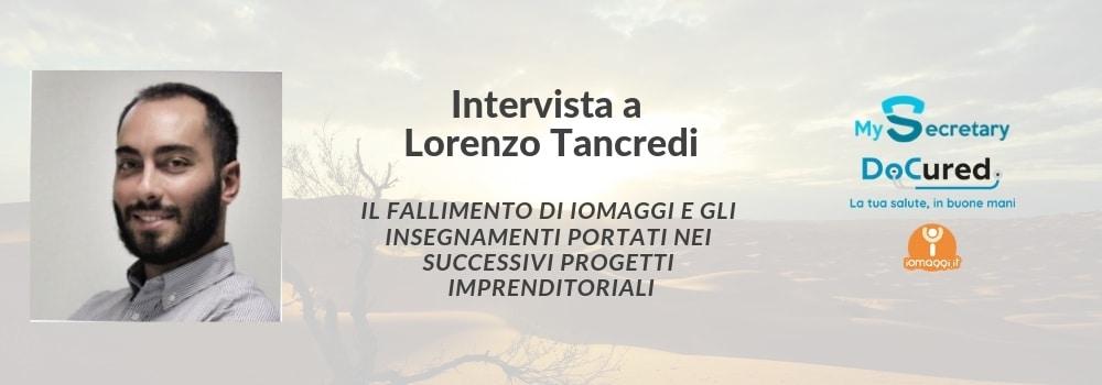 fallimento startup lorenzo tancredi