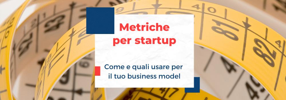 metriche per startup