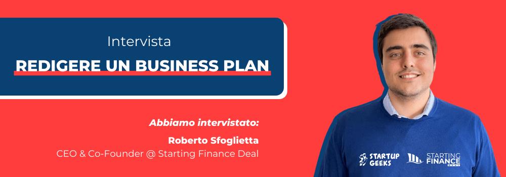 Redigere un Business Plan - Intervista a Starting Finance Deal