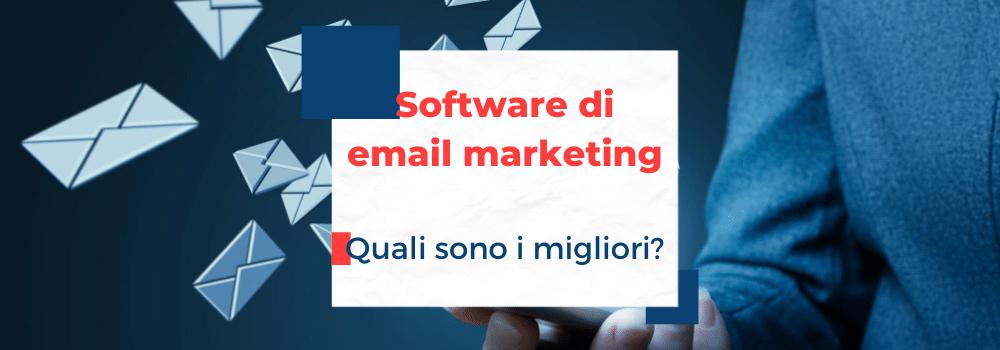 i migliori software di email marketing
