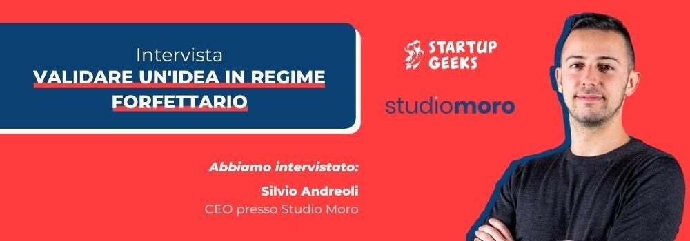 Startup e regime forfettario - Intervista Studio Moro
