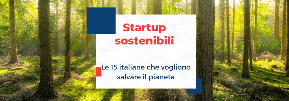 startup sostenibile