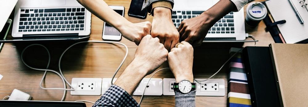 Team Startuo coeso e compatto