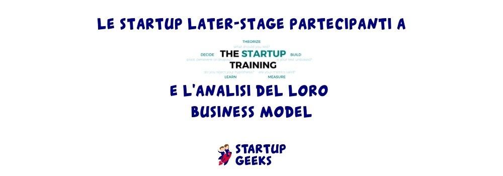 the startup training startup partecipanti