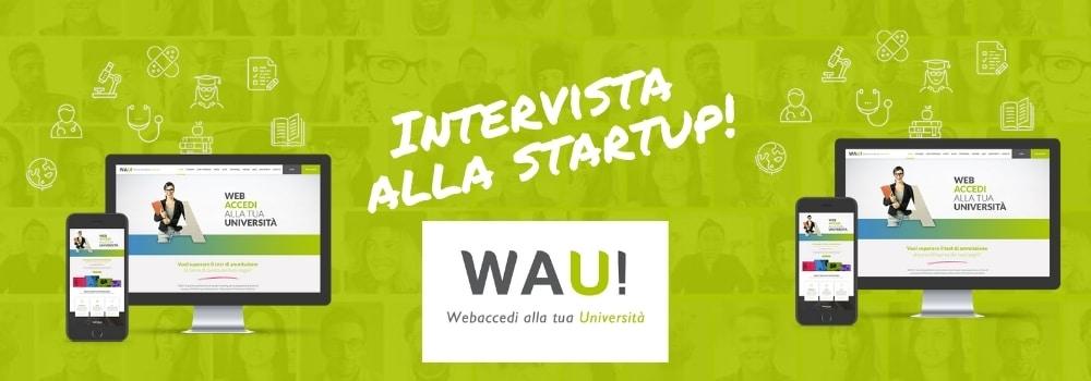 intervista alla startup italiana wauniversity